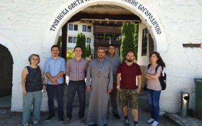 V лятно докторантско училище се проведе в Троянския манастир
